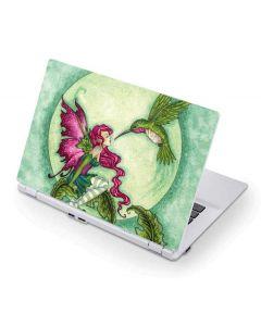 Flirting Fairy and Hummingbird Acer Chromebook Skin