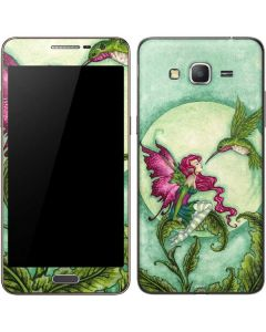 Flirting Fairy and Hummingbird Galaxy Grand Prime Skin