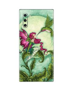 Flirting Fairy and Hummingbird Galaxy Note 10 Skin