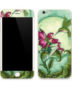 Flirting Fairy and Hummingbird iPhone 6/6s Plus Skin