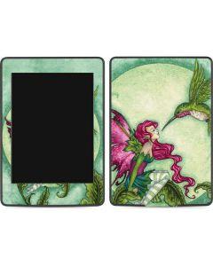 Flirting Fairy and Hummingbird Amazon Kindle Skin