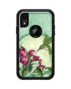 Flirting Fairy and Hummingbird Otterbox Defender iPhone Skin