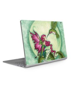 Flirting Fairy and Hummingbird Surface Book 2 15in Skin