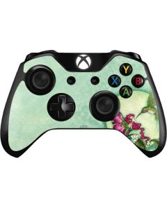 Flirting Fairy and Hummingbird Xbox One Controller Skin