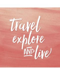 Travel Explore and Live Apple TV Skin