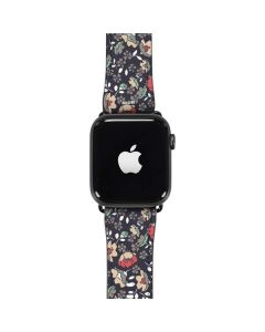 Floral Heart Apple Watch Band 42-44mm