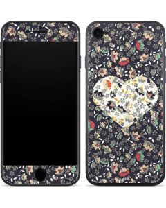Floral Heart iPhone 8 Skin