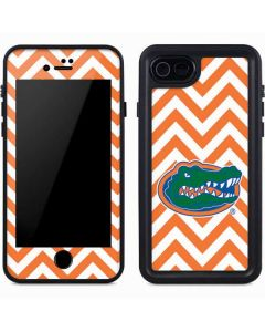 Florida Gators Chevron Print iPhone 8 Waterproof Case