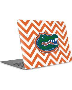 Florida Gators Chevron Print Apple MacBook Air Skin