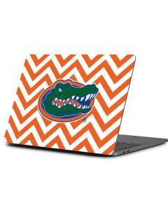 Florida Gators Chevron Print Apple MacBook Pro 13-inch Skin