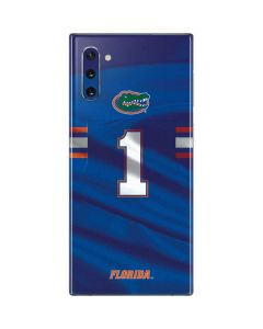 Florida Gators Jersey Galaxy Note 10 Skin
