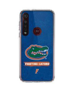 Florida Gators Moto G8 Plus Clear Case