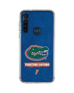 Florida Gators Moto G8 Power Clear Case