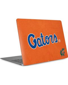 Florida Gators Orange Apple MacBook Air Skin