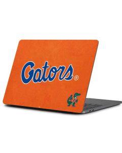 Florida Gators Orange Apple MacBook Pro 13-inch Skin