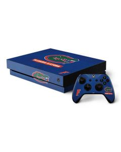 Florida Gators Xbox One X Bundle Skin