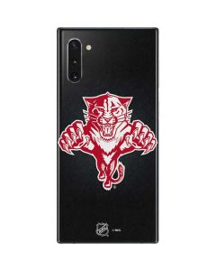 Florida Panthers Black Background Galaxy Note 10 Skin