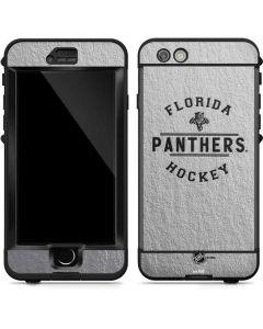 Florida Panthers Black Text LifeProof Nuud iPhone Skin