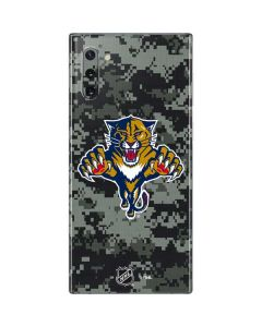 Florida Panthers Camo Galaxy Note 10 Skin