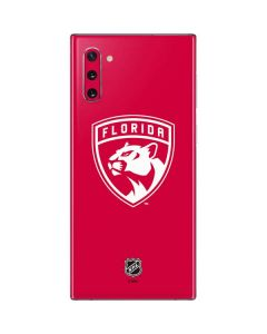 Florida Panthers Color Pop Galaxy Note 10 Skin