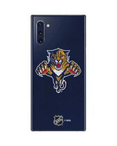 Florida Panthers Distressed Galaxy Note 10 Skin