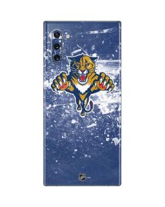 Florida Panthers Frozen Galaxy Note 10 Skin