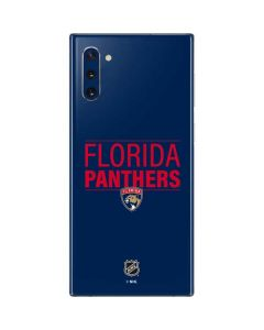 Florida Panthers Lineup Galaxy Note 10 Skin