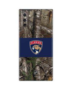 Florida Panthers Realtree Xtra Camo Galaxy Note 10 Skin
