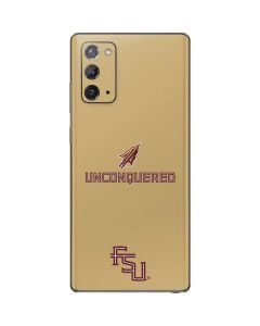 Florida State Unconquered Gold Galaxy Note20 5G Skin