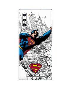 Flying Superman Galaxy Note 10 Skin