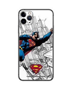 Flying Superman iPhone 11 Pro Max Skin