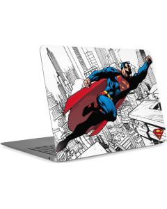 Flying Superman  Apple MacBook Air Skin