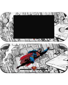 Flying Superman Nintendo Switch Lite Skin