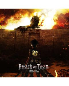 Attack On Titan Fire Surface Go Skin