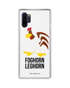 Foghorn Leghorn Identity Galaxy Note 10 Plus Clear Case