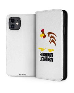 Foghorn Leghorn Identity iPhone 11 Folio Case