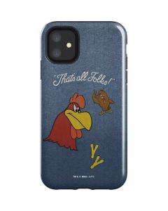 Foghorn Leghorn Thats All Folks iPhone 11 Impact Case