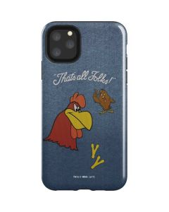 Foghorn Leghorn Thats All Folks iPhone 11 Pro Max Impact Case