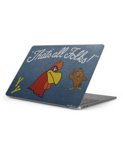 Foghorn Leghorn Thats All Folks Apple MacBook Pro 16-inch Skin