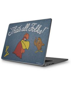 Foghorn Leghorn Thats All Folks Apple MacBook Pro 17-inch Skin