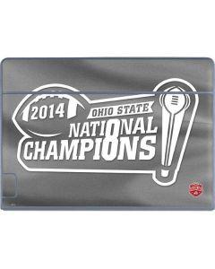 Football Champions Ohio State 2014 Galaxy Book Keyboard Folio 12in Skin