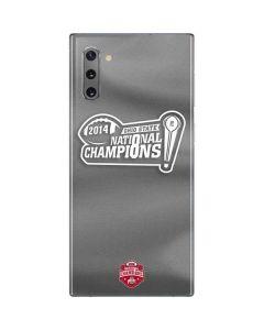 Football Champions Ohio State 2014 Galaxy Note 10 Skin