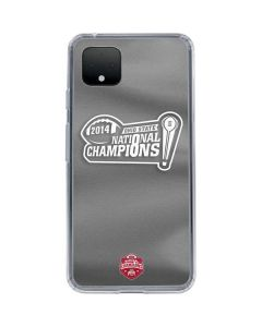 Football Champions Ohio State 2014 Google Pixel 4 XL Clear Case
