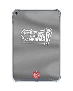 Football Champions Ohio State 2014 iPad Mini 5 (2019) Clear Case