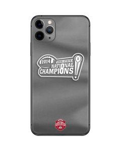 Football Champions Ohio State 2014 iPhone 11 Pro Max Skin