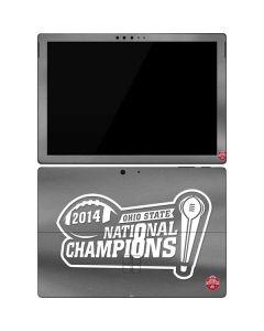 Football Champions Ohio State 2014 Surface Pro 7 Skin