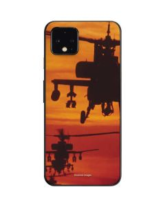 Four AH-64 Apache Helicopters Google Pixel 4 Skin