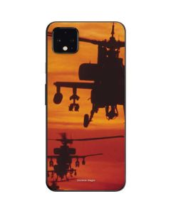 Four AH-64 Apache Helicopters Google Pixel 4 XL Skin