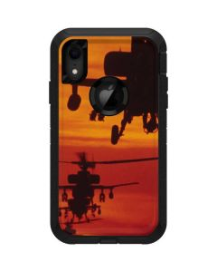 Four AH-64 Apache Helicopters Otterbox Defender iPhone Skin