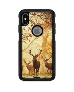 Four Red Deer Otterbox Commuter iPhone Skin